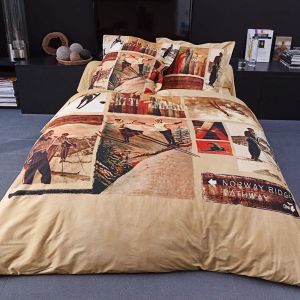 Duvet Cover Bed Set Slalom
