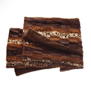 Brown Bengale rug
