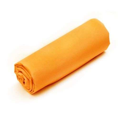 Drap-housse Uni Percale Fin de Série Orange | Linge de lit | Tradition des Vosges